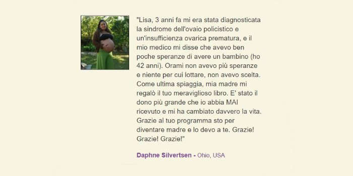 Opinioni, recensioni e testimonianze: Daphne Silvertsen