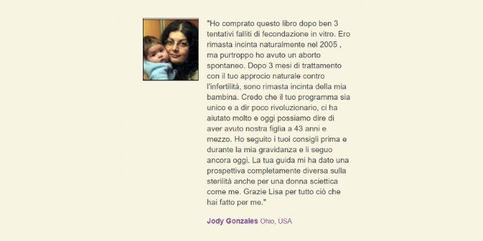 Larecensione di Jody Gonzales